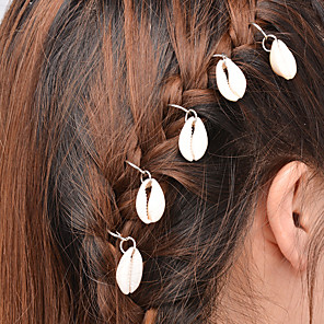 cheap Hair Jewelry-Women's Hair Ties For Daily Casual Alloy Golden Silver