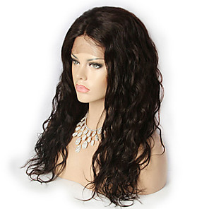 cheap Lolita Wigs-Human Hair Lace Front Wig style Brazilian Hair Loose Wave Wig 20 inch Women's Short Medium Length Long Human Hair Lace Wig