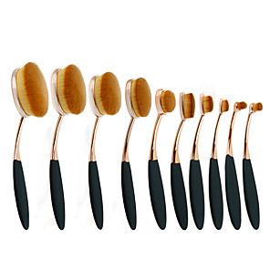 cheap Makeup Brush Sets-Professional Makeup Brushes Makeup Brush Set 10pcs Portable Eco-friendly Professional Synthetic Hair / Artificial Fibre Brush Plastic for Blush Brush Foundation Brush Lip Brush Eyebrow Brush