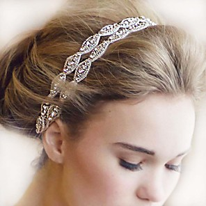 cheap Hair Accessories-Hair Bands Hair Accessories Rhinestones Wigs Accessories Women's pcs 11-20cm cm