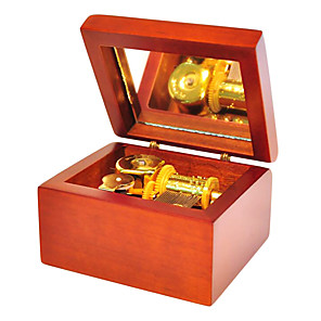 cheap Historical & Vintage Costumes-QIAOJIANG HOUSE Music Box Wooden Music Box Antique Music Box Unique Women's Girls' Kid's Adults Graduation Gifts Toy Gift