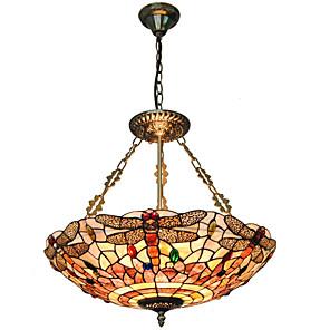 cheap Island Lights-5-Light 50cm(20 Inch) Mini Style Pendant Light Metal Shell Inverted Others Tiffany 110-120V / 220-240V