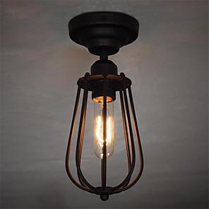 cheap Ceiling Lights-1-Light CXYlight 11(4.3'') Mini Style Flush Mount Lights Metal Painted Finishes Retro 110-120V / 220-240V / E26 / E27