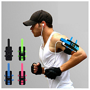 cheap Running Bags-Armband Cell Phone Bag Running Pack for Running Cycling / Bike Fitness Sports Bag Adjustable Soft Compact Terylene Nylon Tactel Running Bag / iPhone X / iPhone XS Max / iPhone XS / iPhone XR