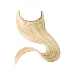 cheap Synthetic Lace Wigs-Flip In Human Hair Extensions Straight Remy Human Hair Human Hair Auburn