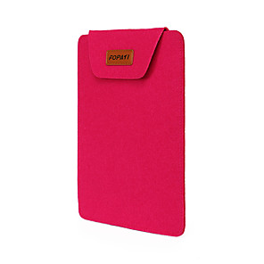 "cheap Sleeves,Cases & Covers-12"" Laptop Sleeves Solid Color for Business Office for Colleages & Schools for Travel Water Proof Shock Proof"