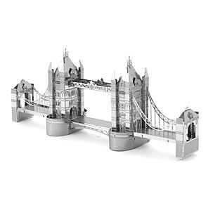 cheap 3D Puzzles-Jigsaw Puzzles 3D Puzzles / Metal Puzzles Building Blocks DIY Toys Metal Silver Model & Building Toy