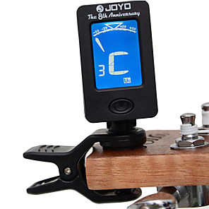cheap Microphones & Accessories-Guitar Electronic Tune Plastic Bass Ukulele Violin A0~8C for Acoustic and Electric Guitars Musical Instrument Accessories