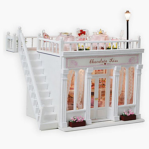 cheap Reborn Doll-Chocolate Kiss Diy Hut Creative Valentines Day Gift Handmade Model House