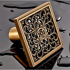 cheap Faucet Accessories-Drain Antique Brass 1 pc - Hotel bath