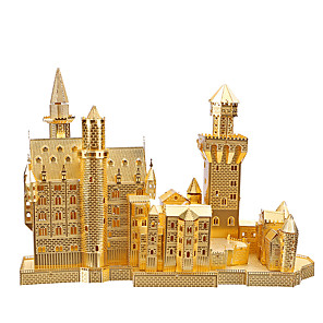 cheap 3D Puzzles-Famous buildings 3D Puzzle Wooden Puzzle Metal Puzzle Wooden Model Metal Kid's Adults' Toy Gift