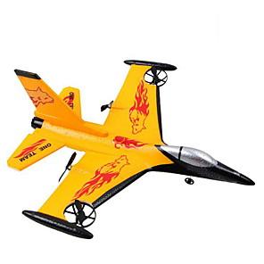 cheap Reborn Doll-WS 9106 F16 Foam 4ch RC Airplane