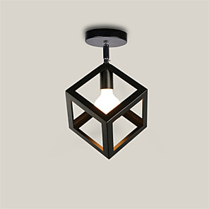 cheap Ceiling Lights-1-Light CXYlight 20(7.8'') Mini Style Flush Mount Lights Metal Painted Finishes Retro 110-120V / 220-240V / E26 / E27