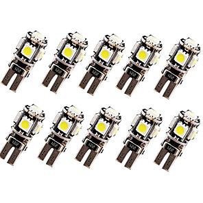povoljno Auto unutrašnja svjetla-10pcs t10 žarulje automobila 2,5 w 120 lm LED svjetla za pokazivač univerzalnih
