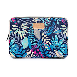 "cheap Sleeves,Cases & Covers-11.6"" 12"" 13.3"" 14"" 15.6"" Forest Leaves Design Shockproof Laptop Sleeve Bag for Macbook/Surface/HP/Dell/Asus/Samsung/Sony etc"