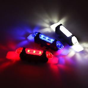 cheap Bike Lights & Reflectors-Rear Bike Light / Safety Light / Tail Light Bike Light LED Cycling With Battery, Adjustable, Easy to Install Rechargeable Battery 80 lm Built-in Li-Battery Powered Cycling / Bike / IPX-4