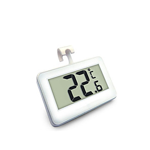 cheap Testers & Detectors-Household High-Precision Waterproof Electronic Digital Display Refrigerator Thermometer with Frost Alarm Function