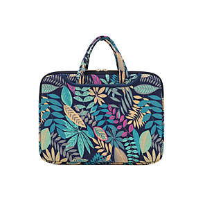 """cheap Sleeves,Cases & Covers-14.3"""" 15.6"""" Laptop Bag Briefcase Handbags Fabrics Flower for Macbook/Surface/HP/Dell/Samsung/Sony Etc"""