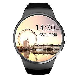 cheap Smartwatches-KING-WEAR® KW18 Smart Watch Bluetooth Fitness Tracker Support Notify/ Heart Rate Monitor Sports Smartwatch Compatible Iphoen/ Samsung/ Android Phones