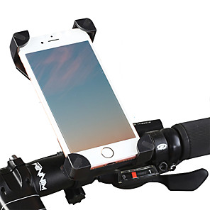 cheap Phone Mounts & Holders-Bike Phone Mount Adjustable Lightweight 360°Rolling / Rotatable for Road Bike Mountain Bike MTB BMX ABS PVC iPhone X iPhone XS iPhone XR Cycling Bicycle Black Black / Red 1 pcs / Ergonomic