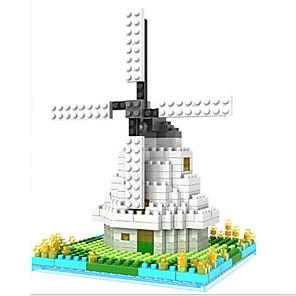 cheap Building Blocks-Loz The Windmill Loz Diamond Blocks Block Toys DIY Toys(250 Pcs)