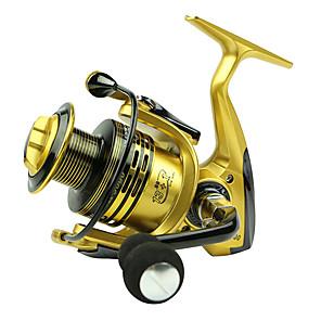 cheap Fishing Reels-Fishing Reel Spinning Reel 5.5/1 Gear Ratio+13 Ball Bearings Hand Orientation Exchangable Bait Casting / General Fishing - XF5000