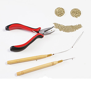 cheap Tools & Accessories-neitsi stick hair extension remove pliers pulling hook bead device tool kits for silicone micro rings beads loops