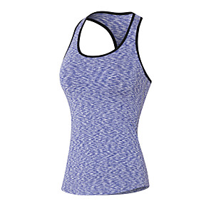 cheap Running & Jogging Clothing-Women's Racerback Compression Tank Top Athletic Breathable Quick Dry Compression Yoga Fitness Gym Workout Workout Exercise Sportswear Sweatshirt Tank Top Base Layer Top Black Purple Red Blue Green