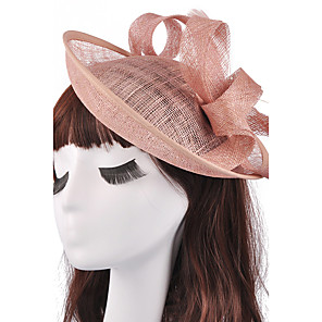 cheap Evening Dresses-Flax Fascinators Headpiece Wedding Party Elegant Feminine Style