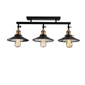 cheap Cluster Design-3-Light 22cm(8.6 inch) Mini Style Flush Mount Lights Metal Island Painted Finishes Retro 110-120V / 220-240V / E26 / E27