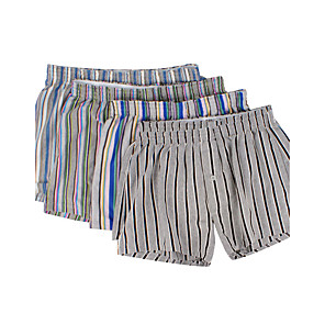 cheap Ethernet Cable-Men's Sexy Boxers Underwear Striped 1 Piece Mid Rise Rainbow