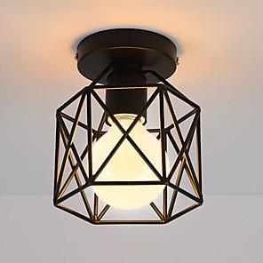 cheap Pendant Lights-1-Light CXYlight 14cm(5.5 inch) Mini Style Flush Mount Lights Metal Painted Finishes Vintage 110-120V / 220-240V / E26 / E27