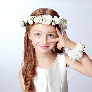 cheap Party Headpieces-Kids Boys' / Girls' Acrylic Hair Accessories Blue / Pink / Khaki One-Size / Headbands