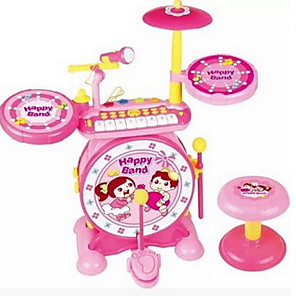 cheap Pretend Professions & Role Playing-Rock Piano Jazz Drum Drum Drum Combination Of Children'S Educational Early Childhood Percussion Toys