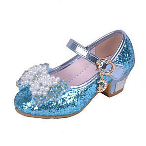 de75c18109dd ADOR® Girls' Shoes Glitter Spring & Summer Comfort Heels Crystal / Bowknot  / Sequin