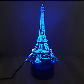 cheap 3D Night Lights-3D Nightlight Decorative LED 1 pc