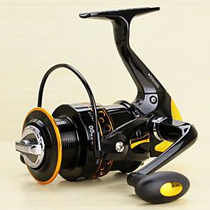 cheap Fishing Reels-Fishing Reel Spinning Reel 5.2/1 Gear Ratio+13 Ball Bearings Hand Orientation Exchangable Spinning / Lure Fishing