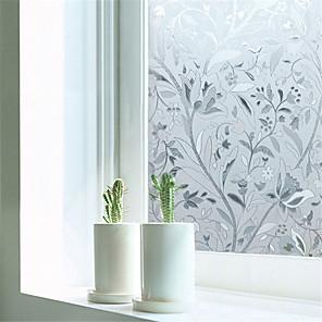 cheap Wall Stickers-Contemporary 45 cm 100 cm Window Film Dining Room / Bedroom / Office PVC / Vinyl