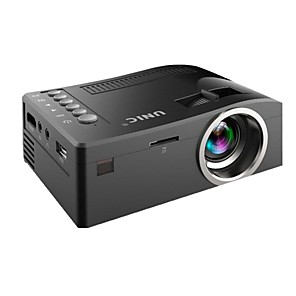 cheap Projectors-uc18 DLP Projector 300 lm Other OS Support / 1080P (1920x1080) / QVGA (320x240)