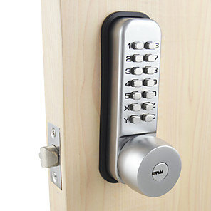 cheap Door Locks-Stainless Steel Password lock Smart Home Security System Home Villa Hotel Apartment Stainless Steel Door Composite Door Wooden Door