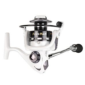 cheap Fishing Reels-Spinning Reel 5.2:1 Gear Ratio+13 Ball Bearings Hand Orientation Exchangable Bait Casting / Ice Fishing / Spinning - TXL3000 / Freshwater Fishing / Carp Fishing / Bass Fishing / Lure Fishing