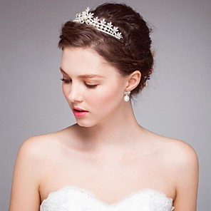 cheap Jewelry Sets-Imitation Pearl / Alloy Tiaras / Headbands / Wreaths with 1 Wedding / Special Occasion / Casual Headpiece