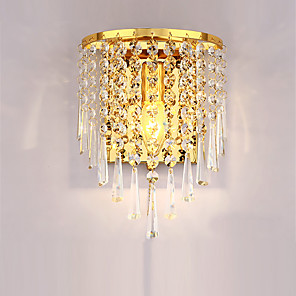 cheap Indoor Wall Lights-Novelty / Traditional / Classic / Modern / Contemporary Wall Lamps & Sconces Metal Wall Light 220V 60W