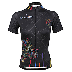 cheap Cycling Jerseys-ILPALADINO Women's Short Sleeve Cycling Jersey Plus Size Bike Jersey Top Mountain Bike MTB Road Bike Cycling Breathable Quick Dry Ultraviolet Resistant Sports Clothing Apparel / Stretchy