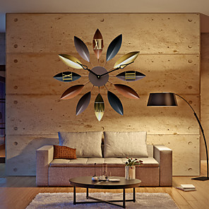cheap Wall Clocks-Gifts, Metal Casual Modern Contemporary Retro for Home Decoration Gifts 1pc