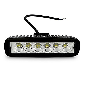 cheap Vehicle Working Light-OTOLAMPARA Top Sales 2PCS 18W LED Work Light White Color