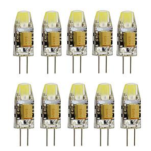 cheap LED Bi-pin Lights-1pc 2W G4 Mini Led Bulb Spotlight COB SMD Cold / Warm White DC / AC 12V