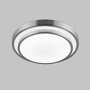"cheap Flush Mounts & Semi Flush Mounts-KAKAXI 35(13.78"") Mini Style / LED Flush Mount Lights PVC Electroplated Modern Contemporary 90-240V / 110-120V / 220-240V"