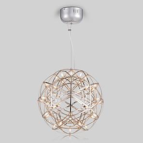 cheap Pendant Lights-30 cm LED Pendant Light Metal Globe Painted Finishes Modern Contemporary 110-120V / 220-240V