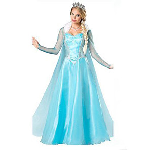 cheap Movie & TV Theme Costumes-Princess Cinderella Movie / TV Theme Costumes Dress Cosplay Costume Women's Halloween Festival / Holiday Terylene Women's Carnival Costumes Patchwork